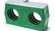 Twin Series Pipe Clamps